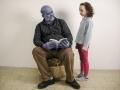 Il nonno blu