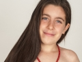 Gloria Messori 10 anni - studentessa e gloriosamente pattinatrice